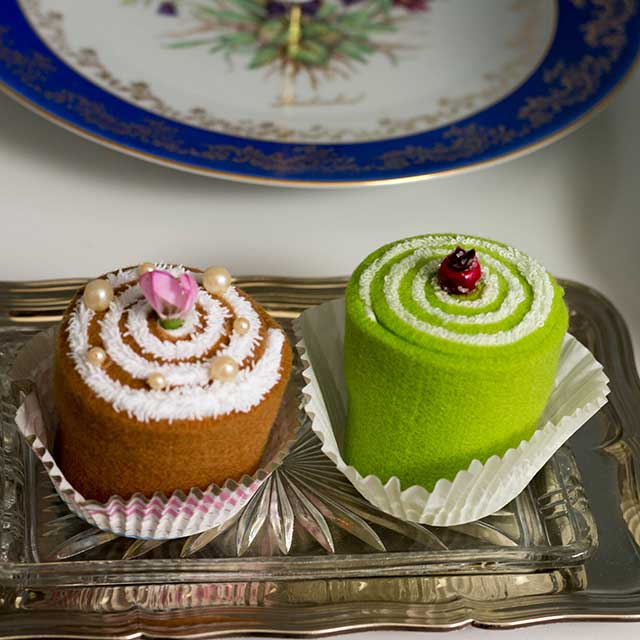 TEXTILE CUP CAKES